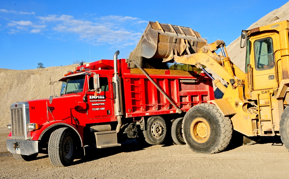 Peterbuilt Dump Truck